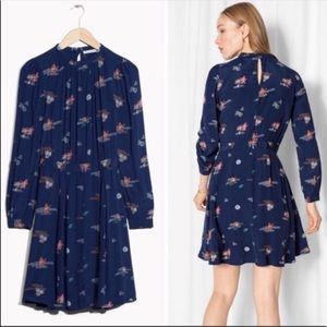 NWT & Other Stories Long Sleeve Summer dress
